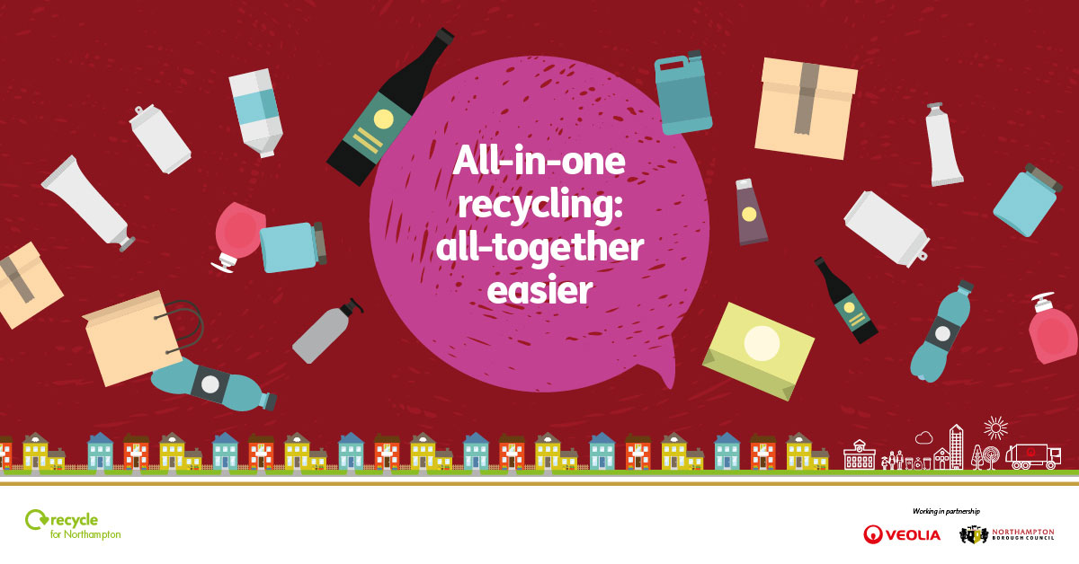 Recycling is now all-together easier