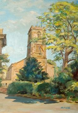 Abington Landscapes showcases a selection of works from the Northampton Museum & Art Gallery collection that highlights Abington's changing landscape over time.