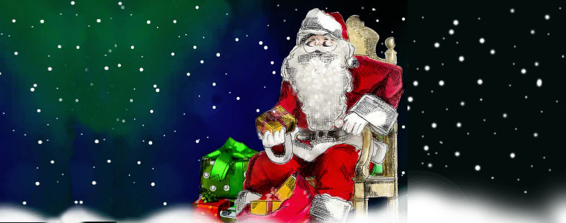 Meet Father Christmas in his Grotto at Market Walk