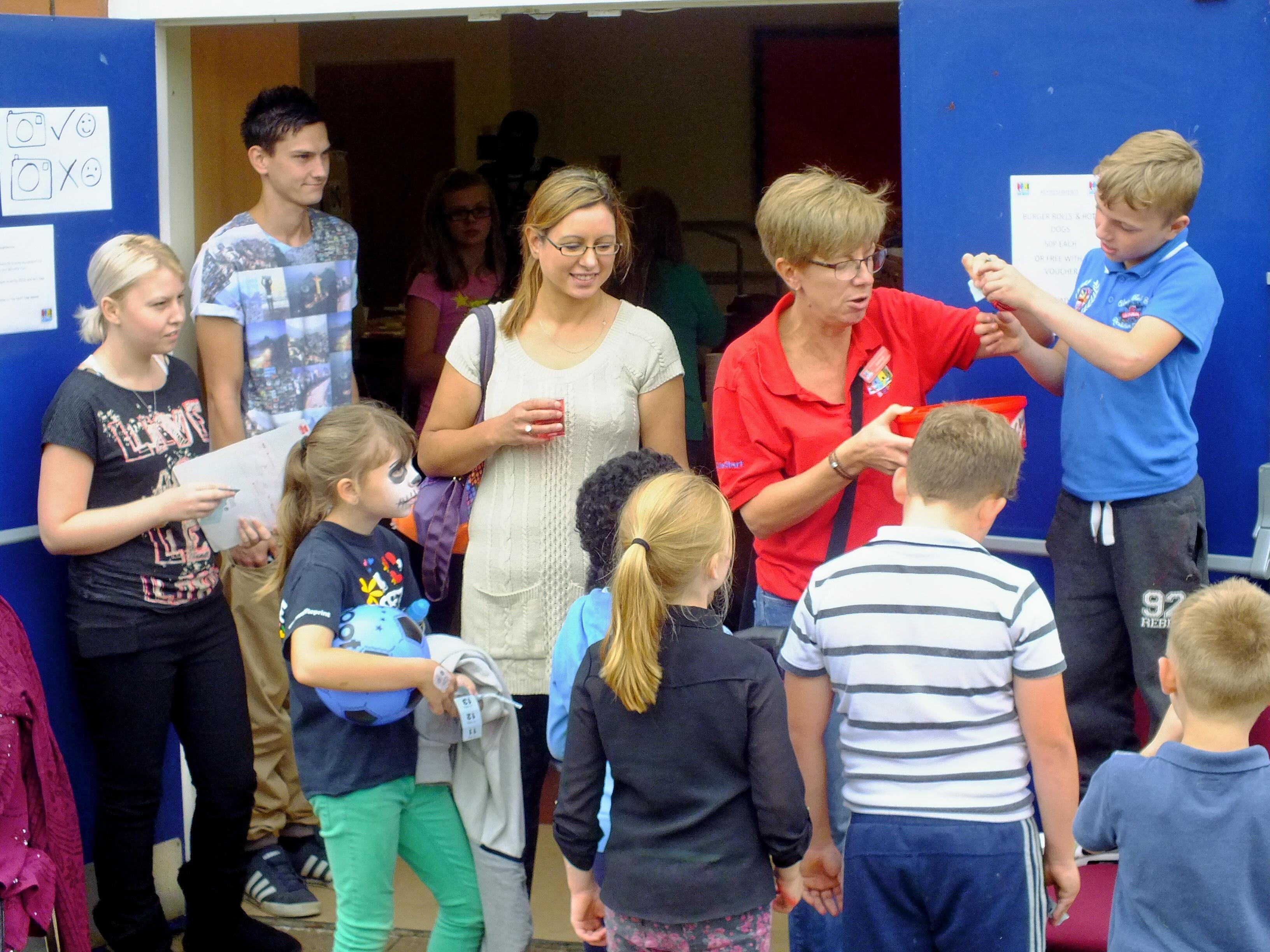 Blackthorn Good Neighbours, Community Centre Fun Day, Summer 2014.