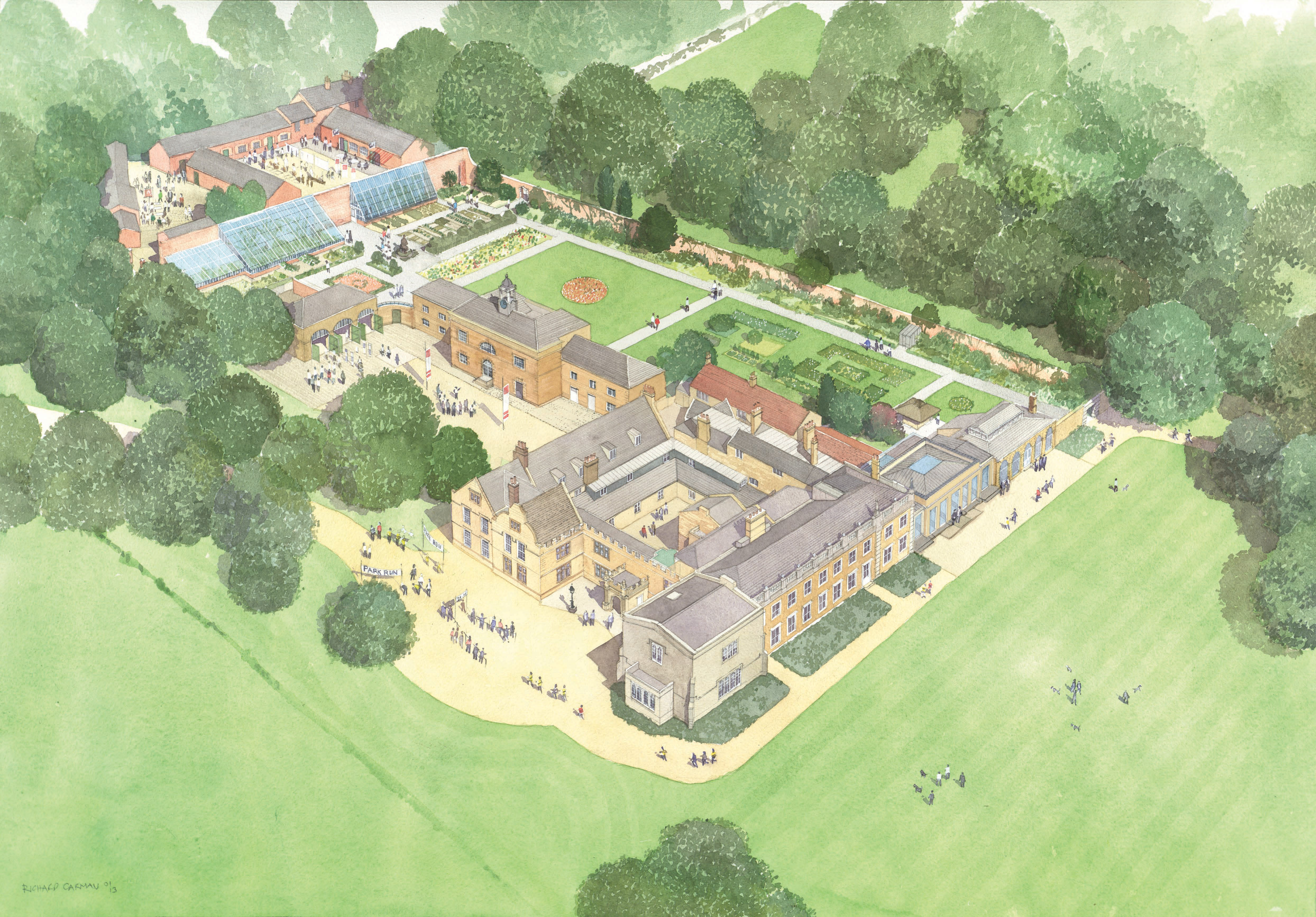 Artist's impression of proposed changes