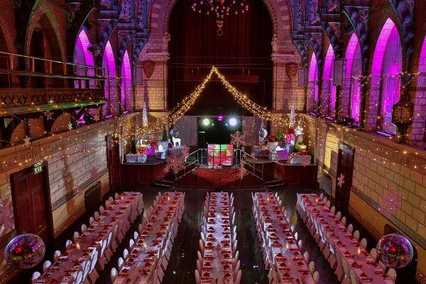 Parties at the Guildhall
