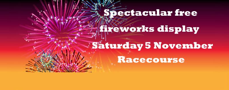 Fireworks display, 5 November