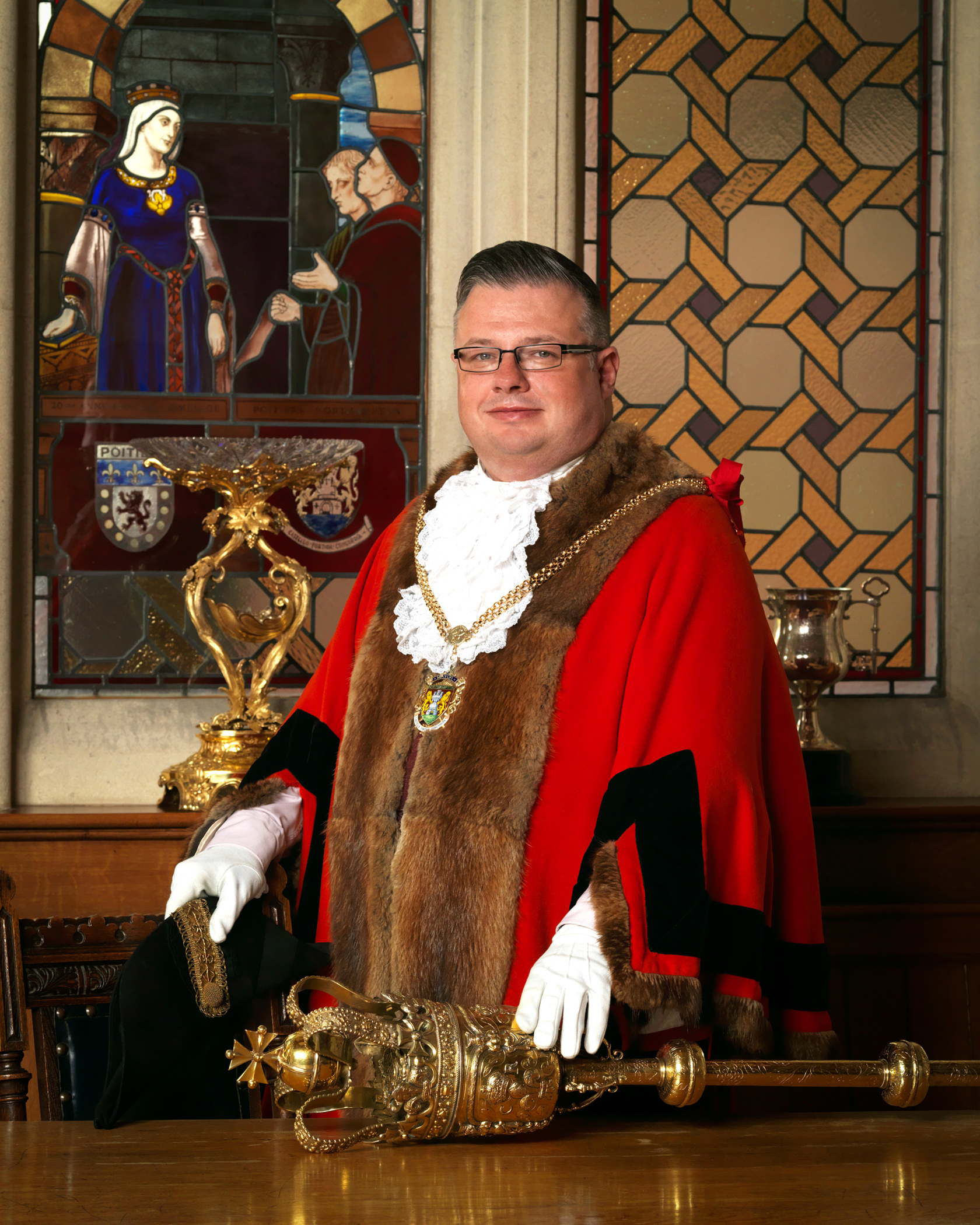 Gareth Eales, Mayor of Northampton 2017 - 2018