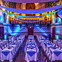 Party setup in the Great Hall