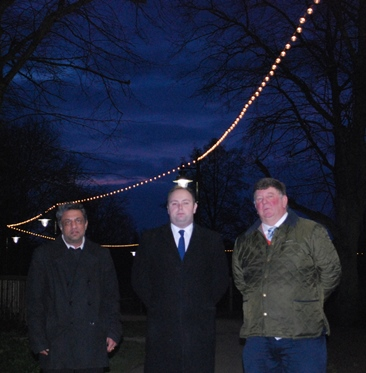 New lighting installed at Midsummer Meadow