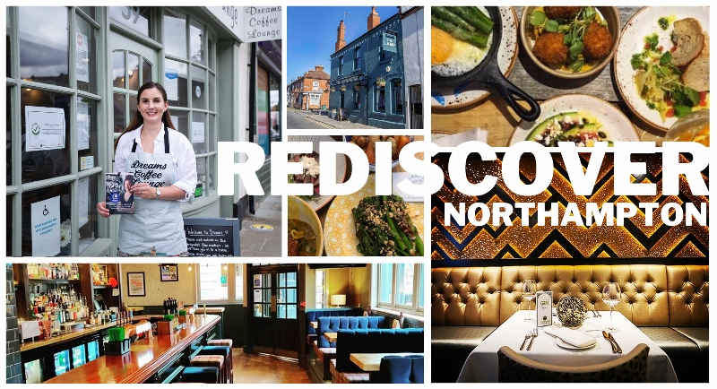 Rediscover Northampton's foodie gems this August