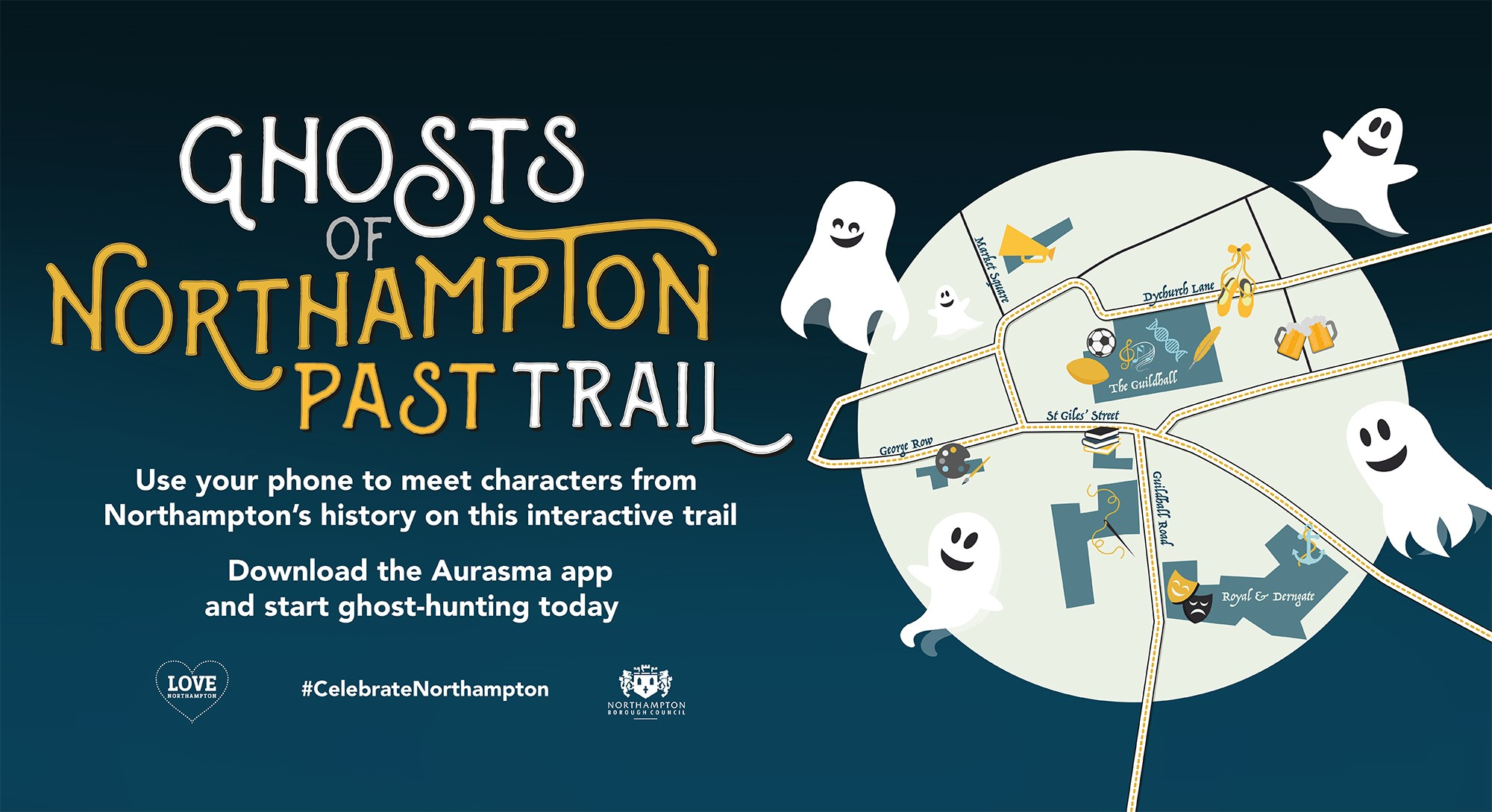 Can you find the Ghosts of Northampton Past?