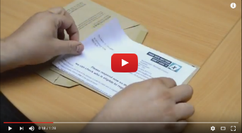 Video on how to complete and return your annual canvass letter