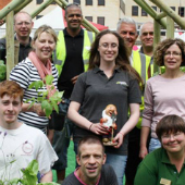 Northampton in Bloom supporters and volunteers