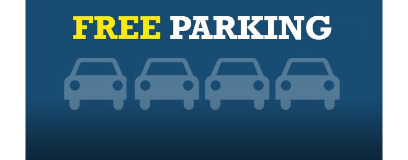 Free weekend parking
