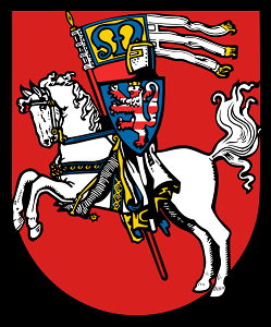 Coat of Arms for Marburg, Germany